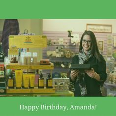 We have a Birthday in the office today - join us in wishing Amanda a very happy Birthday!