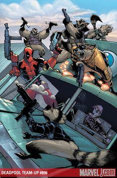 Deadpool Team-Up #896 - Art by Humberto Ramos