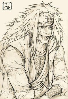 Jiraiya -Credits to the artist