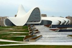 Heydar Aliyev Cultural Center - Baku,Azerbaijan (Zaha Hadid 2012)