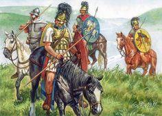Cavalieri romani del II-I secolo a.C.