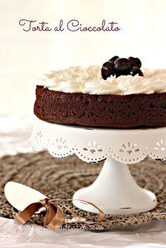 La Cuoca Dentro: Torta al cioccolato senza farina