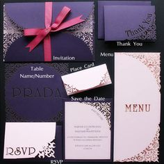 Intricate Creations - Bespoke Laser Cut Wedding Invitations - The Intricate…