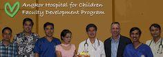 Angkor Hospital for Children Faculty Development Program - The wonderful work of my friend David Narita