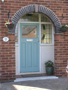 Trying To Figure Out A Back Door Colour For Our Orange Brick House ??? Front  Door ColoursBlue ...