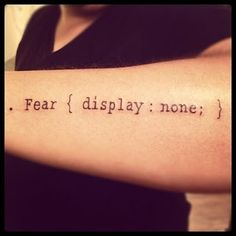 tattoo geek style.