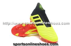 new style a73d6 70dba Adidas Predator 18+ FG Soccer Boots Yellow Red Black Clearance visit  us http