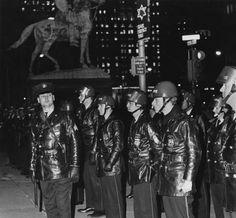 Police in Riot Gear :: George D. McDowell Philadelphia Evening Bulletin Photographs