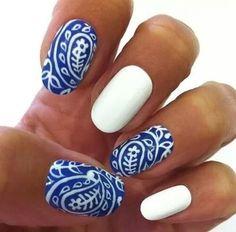 Świetne wzorki na paznokciach