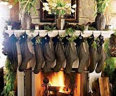 Luxurious Christmas Mantels | Home Decor News