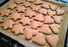 Baby Food Recipes, My Recipes, Sweet Recipes, Cookie Recipes, Gingerbread Cookies, Christmas Cookies, Ginger Cookies, Baking And Pastry, Winter Food