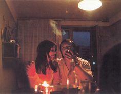Так выглядел романтический ужин при свечах по-советски.