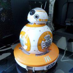 El nuevo droid protagonista de #starwarstheforceawakens  #droid #bb8 #starwars #cienciaficcion