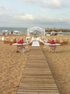 M'encanta. Boda en la playa, Laura y Rogelio