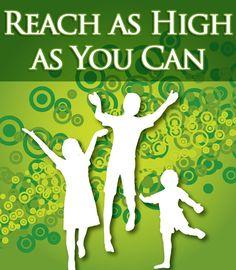 reach as high as you can