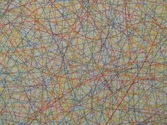 "Detail Of Sol Lewitt's 1971 ""Wall Drawing #65"" At The National Gallery Of Art (Washington, DC) by takomabibelot on Flickr. Detail Of Sol Lewitt's 1971 ""Wall Drawing #65"""