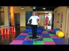 Trampoline Exercises to Improve Proprioception and Vestibular Development - YouTube
