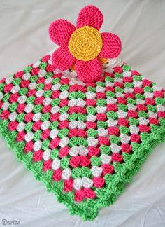 Granny Crochet: A Lovely Spring Flower Crochet Pattern