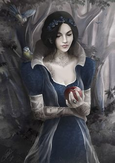 INK TALES - SNOW WHITE BY NICOLAS JAMONNEAU