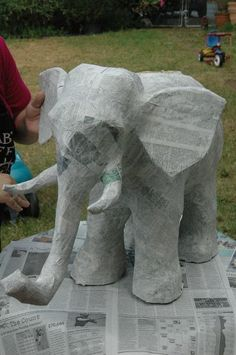 You have to see Paper Mache Elephant by TumpedDuck!