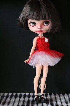 OOAK custom n. 73 Blythe  doll by Silviacat -