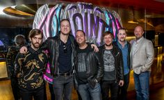 Imagine Dragons celebrated their record-breaking year with a memorabilia case dedication at Hard Rock Hotel & Casino