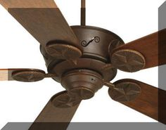 rustic ceiling fans | Star Ceiling Fan - Rustic Lighting and Fans