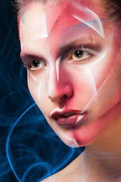 Alex Box Inspired    Makeup - ShowMe MakeUp  Model - Kate Errington  Photography - Martin Higgs Avant Garde MakeUp