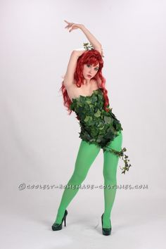 A Toxic Poison Ivy Costume. costume chock full of costume ideas Homemade Costumes, Diy Costumes, Adult Costumes, Cosplay Costumes, Cosplay Ideas, Costume Ideas, Halloween Costume Contest, Sexy Halloween Costumes, Halloween Party