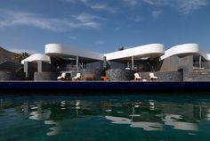 """Enrico Cano""""Davide Macullo: Elounda Beach Hotel"""" Crete, Greece 2008."""