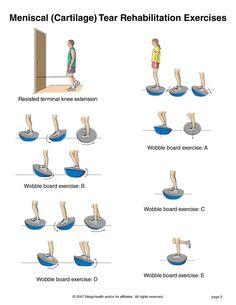 Summit Medical Group - Meniscal (Cartilage) Tear Rehabilitation Exercises