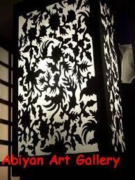 Image result for lampu batik Small Appartment, Art Gallery, Decoration, Image, Ideas, Home Decor, Decor, Art Museum, Decoration Home
