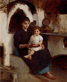 Edouard Alexandre Sain, Supper Time