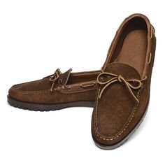Ralph Lauren ラルフローレン モカシンシューズ レザーシューズ 革靴 USA製【$450】[021]
