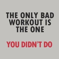 Truth...dont procrastinate...just do it!
