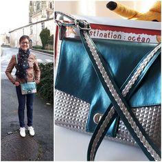 Marie-claude Sabalot sur Instagram: Ma dernière création offerte hier... Menuet aggrandit à 130% ...modèle @patrons_sacotin bouclerie @lamerceriedescreateurs #sacotin #menuet…