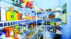 """""""The key to a decluttered kitchen starts with pantry organization."""""""