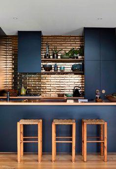 Home Decor Kitchen, Kitchen Furniture, New Kitchen, Decorating Kitchen, Kitchen Small, Modern Kitchen Design, Interior Design Kitchen, Modern Kitchen Tiles, Interior Modern