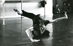 Another vibrant talent encouraged by Marie Rambert was Christopher Bruce. Pictured here in 1967, during rehearsals for Glen Tetley's Pierrot Lunaire, Bruce became one of the world's most respected choreographers as well as the artistic director of Ballet Rambert/Rambert Dance Company in the 1990s.