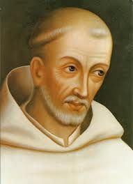 Bernard of Clairvaux (1090-1153 CE) was born into nobility in Burgundy died in 1153 at Clairvaux. Supporter of the Templar Order writing on their behalf and creating their rule based of the cistercian rule.