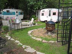 My kind of backyard gathering. Adorable.