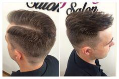Pánský účes z našeho salonu - i pánský střih musí být precizní. / Men hairstyle. Men haircut. Haircut inspiration for men.
