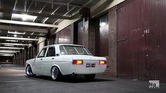 Love the rear window shade... Datsun 510