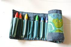 Pencil roll | Flickr - Photo Sharing!