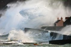 Tim Harvey from Guernsey in the Channel Islands, won the 'classic view' category of the competition for his image of storm waves crashing against a sea wall,    Read more: http://www.dailymail.co.uk/news/article-2052933/Jack-Frost-bites-Landscape-Photographer-Year-competition-incredible-picture-wintry-scene.html#ixzz24rQy2rhs