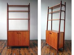 tall storage/display unit. Shown in cherry and mahogany. $3850