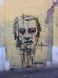 Spanish artist Borondo