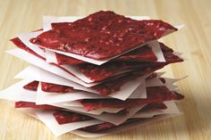 Just 3 ingredients in this easy, healthy raspberry fruit leather, plus no dehydrator is required! Naturally gluten-free, top allergen-free & vegan or paleo.