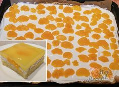 Brownie Cupcakes, Cupcake Cakes, Czech Desserts, Czech Recipes, Vanilla Cake, Food Art, Sweet Recipes, Love Food, Ham