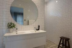 Waiata Design Showhome - Landmark Homes Home, Show Home, Ensuite, House Design, Furniture, Round Mirror Bathroom, Bathroom Design, Bathroom